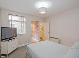 Town centre studio with secure parking, Cannock