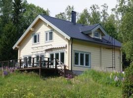 Hjortö stockstuga, Ödkarby