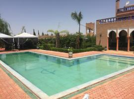Villa Mandarina with private pool, Had Abdallah Rhiat