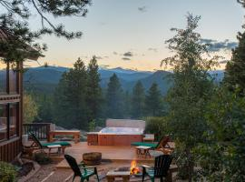 Romantic Mountain Cabin for 2, Lincoln Hills