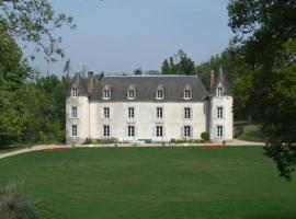 Château de La Ville-Huë, Guer