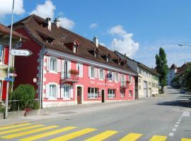 Hotel-Rotisserie La Tour Rouge, Delémont