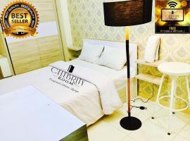 Apartment Green Lake View Celeb Rity Room-by Bahri, Pondokcabe Hilir