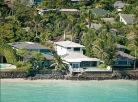 HAPPY NEST -- OCEANFRONT LANIKAI HAWAII, Kailua
