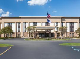 Hampton Inn Merrillville 3 Star Hotel 0 8 Miles From Southlake Mall
