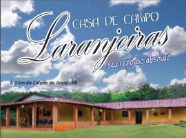 Casa de Campo Laranjeiras, Areia