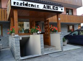 Residence Ables, Valfurva