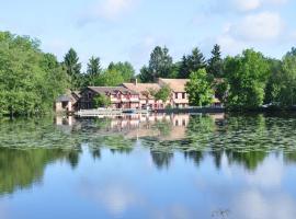 Hotel - Restaurant Le Moulin de Villiers, Nouan-le-Fuzelier