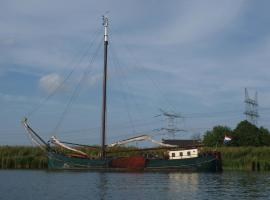 "Authentic Ship ""Vrouwe Johanna"", Amsterdam"