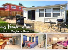 Luxury Home - Steps From The Ocean #384, Daytona Beach
