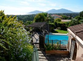 Villa piscine Prunelli, Porticcio