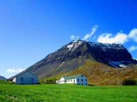 Guesthouse Kirkjubol in Bjarnardalur, Flateyri