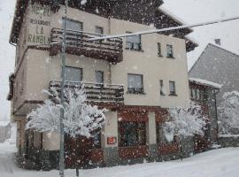 Hotel La Rambla, Biescas