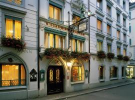 Romantik Hotel Wilden Mann Luzern