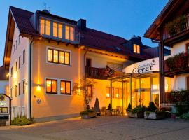 Landhotel Geyer, Kipfenbergas