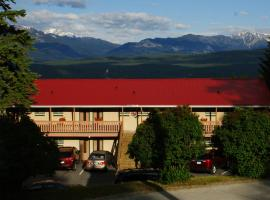 Rocky Mountain Springs Lodge and Citadella Restaurant, Radium Hot Springs