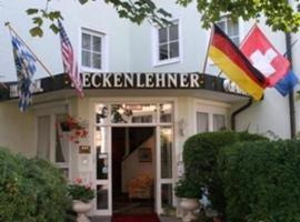 Hotel Residenz Beckenlehner, Unterhaching