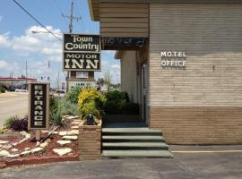 Town and Country Motor Inn Mountain Home AR, Mountain Home