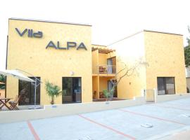 Villa Alpa, Umag