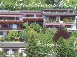 Gästehaus Café Ruff, Happurg