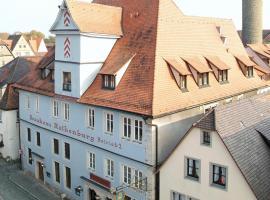 Hotel Altes Brauhaus, Rothenburg ob der Tauber