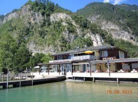 Restaurant Hotel Seegarten, Bauen
