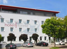 Hotel Forelle Garni, Giundingas