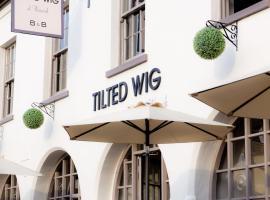 Tilted Wig