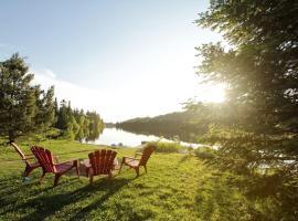 Chalet du Lac-a-L'Ile, Val-des-Lacs
