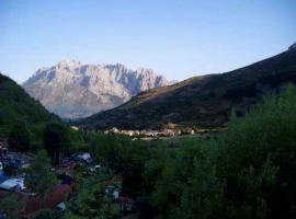 Camping El Cares Picos de Europa, Santa Maria de Valdeón