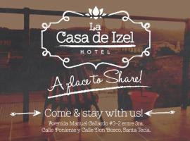 Hotel La Casa de Izel, Nueva San Salvador