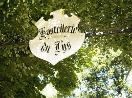 Hostellerie Du Lys, Lamorlaye