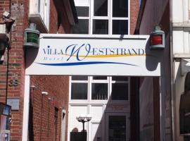 Hotel Villa Weststrand, Borkum