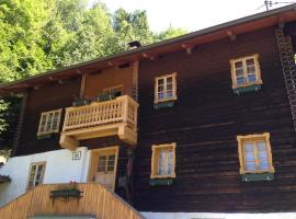 Ferienhaus Pirker, Флаттах