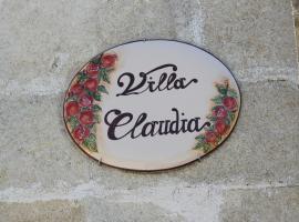 Villa Claudia, Copertino
