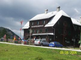 Naturfreundehaus Tauplitzalm, Tauplitz