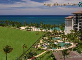 Magnificent Two Bedroom Top Floor Beach Villa with Two Ocean View Lanais
