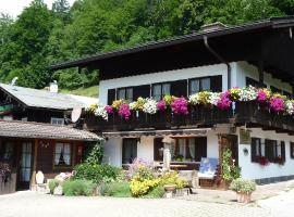 Haus Mitterstang, Bischofswiesen