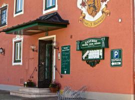Gasthof Franz von Assisi, Anif
