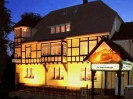 Hotel zur Brockenbahn, Benneckenstein