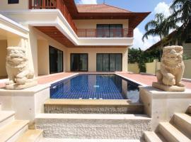 Bang Saray Pool Villa by Pattaya Sunny Rentals, Bang Sare