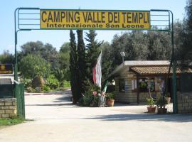 Camping Valle dei Templi, San Leone