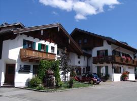 Hotel Ferienhaus Fux, Oberammergau