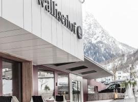 Walliserhof, Brand