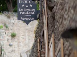 Les Terrasses Poulard, Le Mont-Saint-Michel