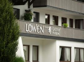 Gasthof Pension Löwen, Andelsbuch