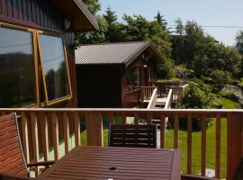 Caisteal Liath Chalets, Lochinver
