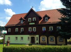 Pension Immergrün, Kurort Jonsdorf
