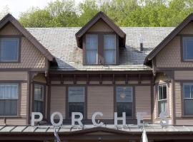 The Porches Inn at Mass MoCA, North Adams