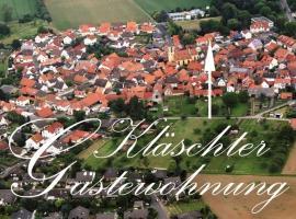 Klaschter Gastewohnung, Groß-Umstadt